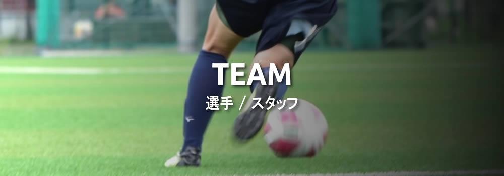 TEAM・選手/スタッフ